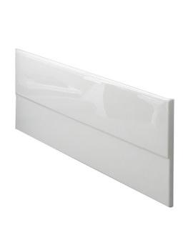 Economy White Bath Front Panel