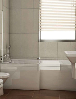 Neon Shower Bath Front Panel 1700mm- 55400001000