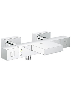 Grohtherm Cube Wall Mounted Thermostatic Bath-Shower Mixer Tap