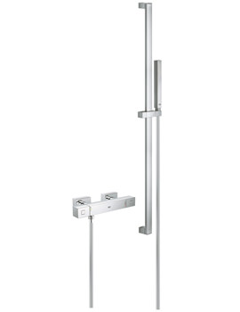 Grohtherm Cube Thermostatic Exposed Shower Set - 34516000