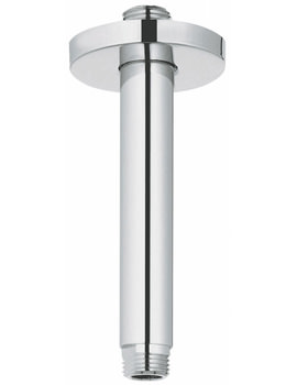 Related Grohe Rainshower Ceiling Mounted 142mm Shower Arm - 28724000