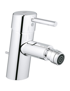 Concetto Monobloc 1-2 Inch Bidet Mixer Tap With Pop Up Waste