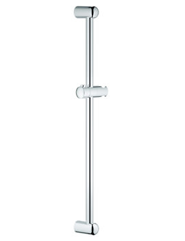 New Tempesta 900mm Shower Bar With Glider and Swivel Holder