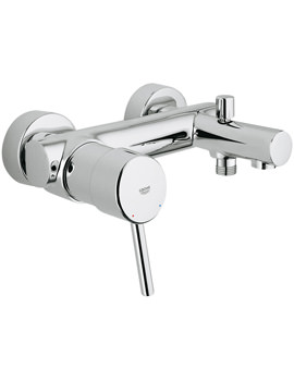 Concetto Wall Mounted 1-2 Inch Single Lever Bath Shower Mixer