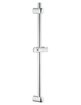Euphoria 900mm Shower Rail With Glide Element And Swivel Holder