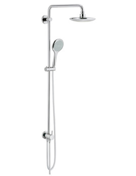Related Grohe Rainshower Solo Shower System With Shower Arm And Diverter