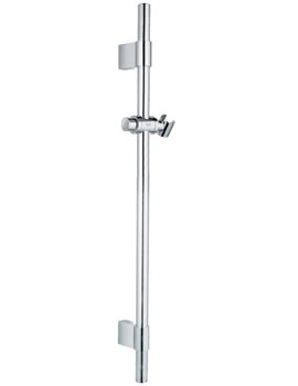 Relexa Chrome Plated Metal Shower Rail 900mm - 28819001
