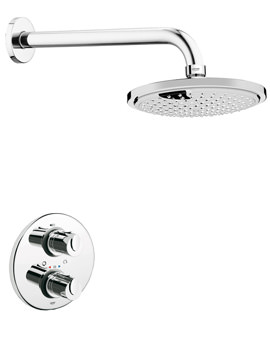 Related Grohe Grohtherm 1000 Plus Shower Set With Concealed Shower Valve
