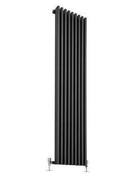 Latitude Anthracite Single Panel Vertical Radiator 342 x 1800mm
