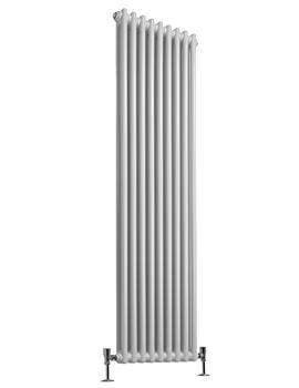 Regent 2 Column - 9 Sections Vertical Radiator White 425 x 1800mm