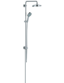 Power And Soul Cosmopolitan Shower System With Diverter