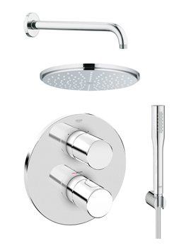 Related Grohe Grohtherm 3000 Cosmopolitan Plus Rainshower Shower Solution Pack 4
