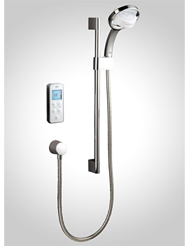 Vision BIV Rear Fed Pumped Digital Mixer Shower - 1.1797.004