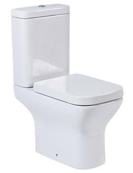 Phoenix Megan Close Coupled WC 630mm With Soft Close Seat
