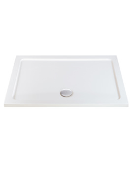 Phoenix Rectangular Shower Tray With Center Waste 1200 x 700mm - ST044