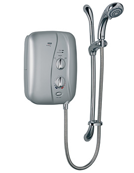 Mira Elite ST 9.8kW Electric Shower Satin Chrome - 1.1674.001