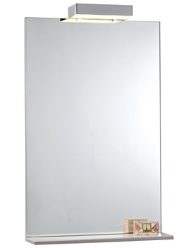 Related Phoenix 700mm Mirror With Shelf And Lights - FM70ML