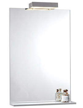 800mm Mirror With Shelf And Lights - FM80ML