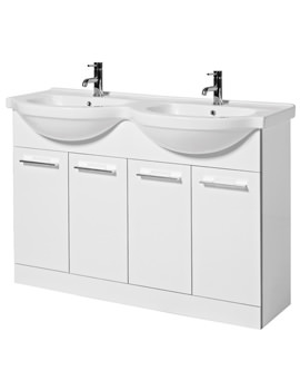 Touch 1200mm Floor Standing Base Unit And Basin - FH120F