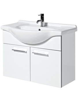 Phoenix Touch 850mm Wall Mounted Base Unit And Basin - FH85W