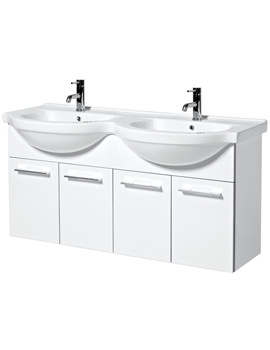 Phoenix Touch 1200mm Wall Mounted Base Unit And Basin - FH120W