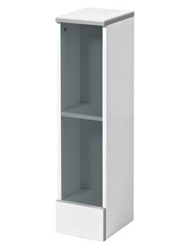 Cara 200mm Open Shelf Unit Gloss White - FC20F