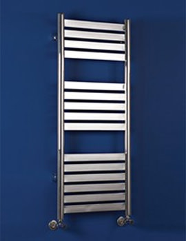 Phoenix Caprice Chrome Pre Filled Electric Radiator 300mm x 1148mm