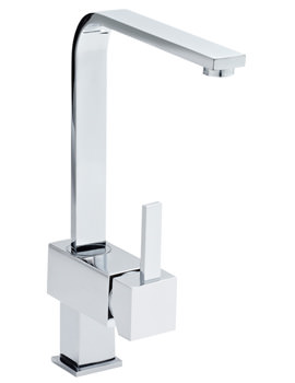 Related Lauren Single Side Lever Action Sink Mixer Tap Chrome - KC312