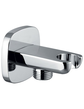 Urban Wall Shower Outlet Elbow With Bracket - KI122A