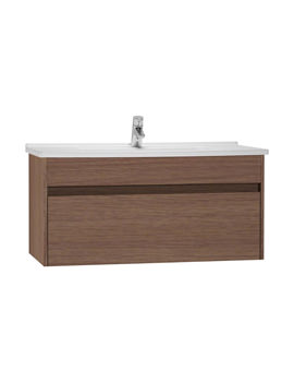 VitrA S50 Oak 1000mm Washbasin Unit - 54744
