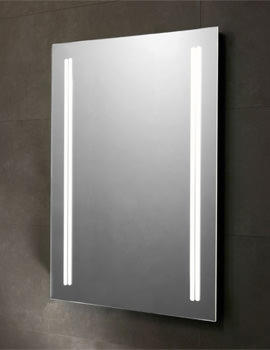 Diffuse 530 x 730mm LED Backlit Illuminated Mirror - SLE520