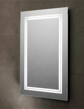 Transmit 450 x 700mm LED Backlit Illuminated Mirror - SLE510