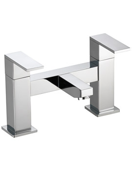 Pura Bloque Deck Mounted Bath Filler Tap - BQBF