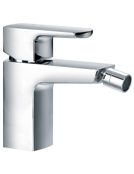 Dekka Single Lever Bidet Mixer Tap With Clicker Waste