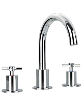 XL 3 Hole Deck Mounted Bath Filler Tap - XL3HBF