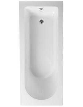Wave 1700 x 750mm Single Ended Bath - PBSE17X75