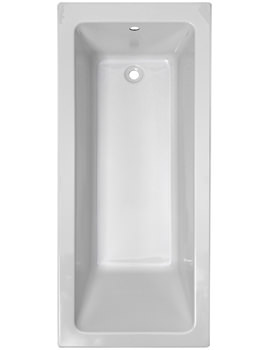 Pura Bloque 1700 x 750mm Single Ended Bath - PBBQSE17X75
