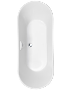 Pura Essence 1500 x 640mm Freestanding Bath - PB109