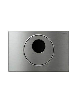 Geberit Sigma10 Battery Operated Dual Flush Plate For UP320 Cistern