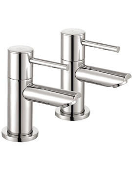 Ivo Pair Of Bath Pillar Taps - IV34