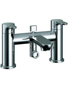 Pura Echo Bath Shower Mixer Tap With Kit - ERBSM