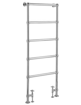 Countess Floor Mounted Towel Rail 600x1550mm