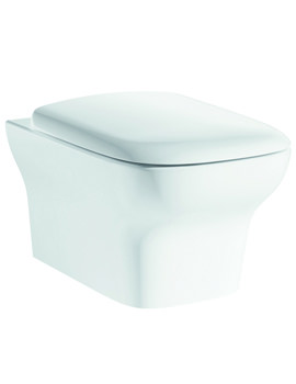 Grace Wall Hung WC Bowl And Soft Close Seat 500mm