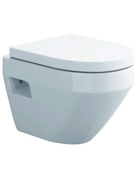 Flite Wall Hung WC Bowl 490mm - CH10136N