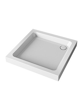 Mira Flight Square Shower Tray With Waste 800 x 800mm