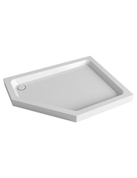Mira Flight Right Hand Pentagon Tray With Waste 1200 x 900mm