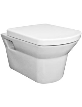 Hudson Reed Alton Wall Hung WC Pan And Soft Close Seat - CLT007