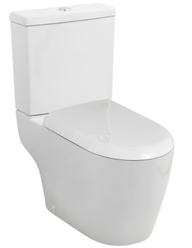 Related Ultra Orb Semi Flush-To-Wall Close Coupled WC And Cistern With Seat 650mm