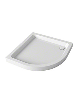 Mira Flight Quadrant Shower Tray With Waste 800 x 800mm