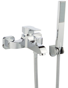 Related Ultra Basis Wall Or Deck Mounted Bath Shower Mixer Tap With Kit
